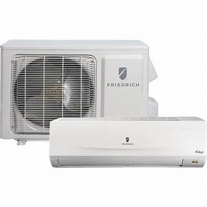 Friedrich Mm12yj 12 000 Btu 16 Seer Heat Pump  U0026 Air Conditioner Ductless Mini Split Mrm12y1j