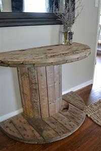 Tisch Aus Kabeltrommel : tisch aus einer halben kabeltrommel wohnidee diy pinterest haus m bel und wohnideen ~ Orissabook.com Haus und Dekorationen