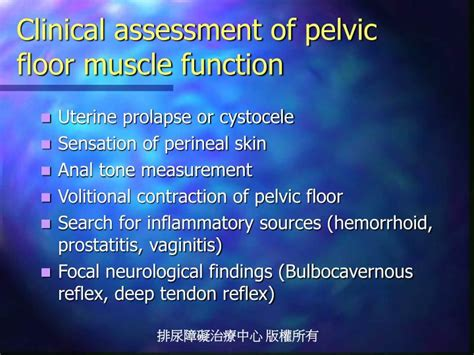 hypertonic pelvic floor and prolapse ppt the spastic sphincter powerpoint presentation id