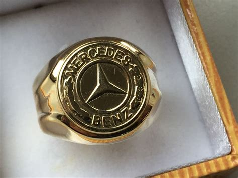 mercedes ring gold mercedes s ring in 14 kt catawiki