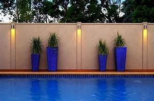 Smart fence swimming pool privacy by