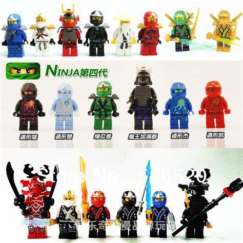 ninjago building block sets ninja minifigure  weapons
