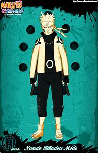 Naruto Rikudou Mode by HIERRO-HD on DeviantArt