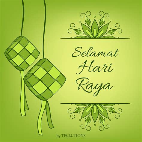 teclutions selamat hari raya aidilfitri festive green celebration muslim  insight