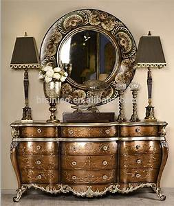 french rococo style vintage hand painted console table With best brand of paint for kitchen cabinets with hand carved wooden wall art
