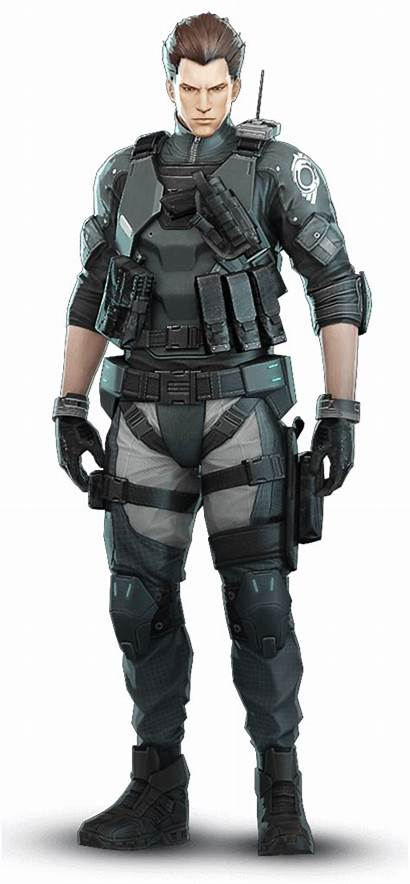 Ghost Shell Paz Characters Character Outfit Armor