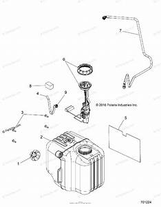 Polaris Side By Side 2017 Oem Parts Diagram For Body  Fuel