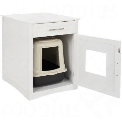 maison de toilette pour chat originale maisonnette pour chat pet room en bois zooplus be