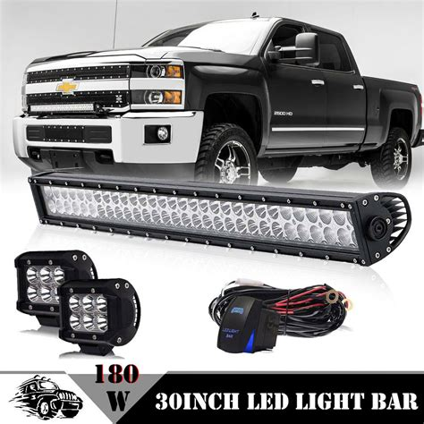 Toyota Tacoma Lights by 30 Quot Led Light Bar For 2016 2017 Toyota Tacoma Road