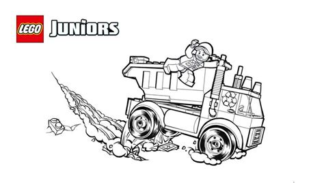 lego  garbage truck  coloring sheet truck coloring pages lego coloring lego juniors