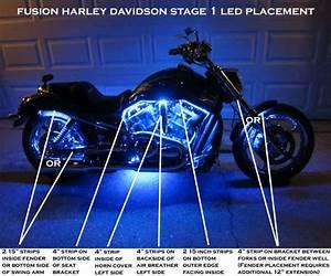 Harley davidson stage fusion led lighting kit