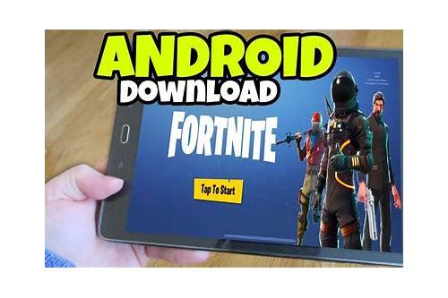 fortnite download free tablet