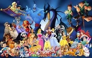 Disney characters wallpaper - Cartoon wallpapers - #13694