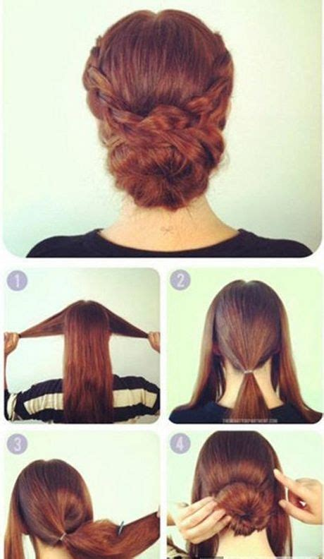 image result  updos  long hair step  step