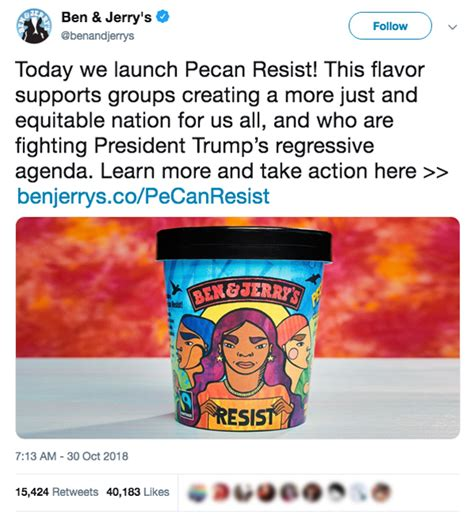 ice cream follies pecan resist