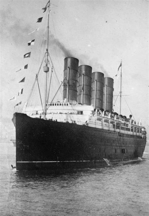 Where In Ireland Did The Lusitania Sink by The Sinking Of The Cunard Liner Rms Lusitania