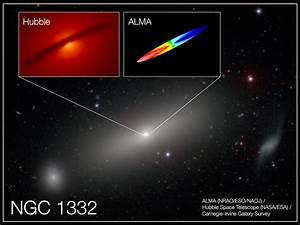 Astronomers precisely 'weigh' a supermassive black hole ...