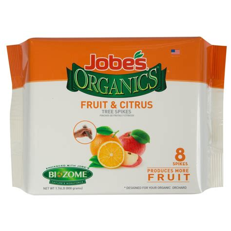 Jobe's Organics 176 Lb Organics Fruit And Citrus