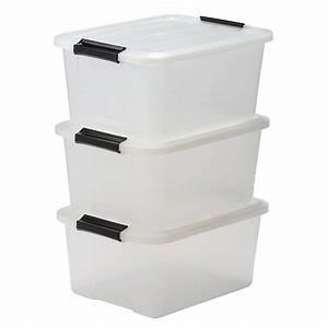 Boite De Rangement Plastique : boites rangement ~ Edinachiropracticcenter.com Idées de Décoration