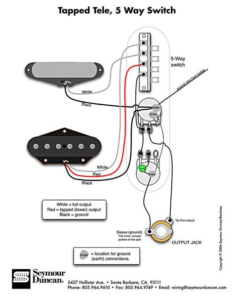 Tele Wiring Diagram Tapped With Way Switch Electric