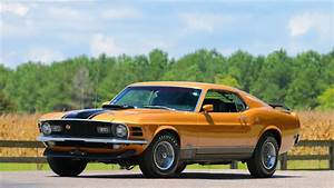 Ford Mustang Mach 1 Fastback 1970 USA Gieda Klasykw