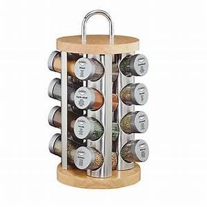 Support à épices : etag re caroussel 16 pices base bois kuchenprofi la casserolerie ~ Teatrodelosmanantiales.com Idées de Décoration