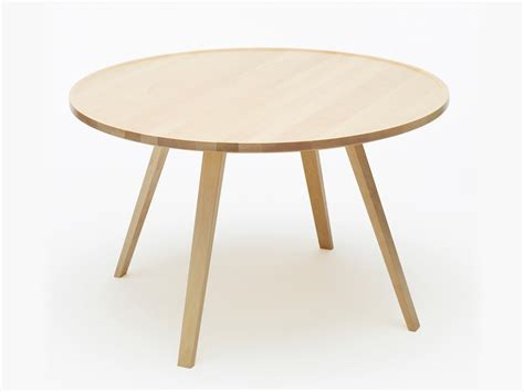 tables rondes en bois mill table basse ronde by karl andersson s 246 ner design roger persson