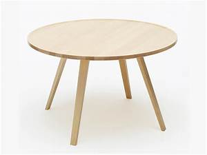 Table En Bois Ronde : mill table basse ronde by karl andersson s ner design roger persson ~ Preciouscoupons.com Idées de Décoration