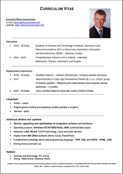 De Cv by Formacion Dinero Y Empleo Desde Tu Orden Dor Octubre 2013