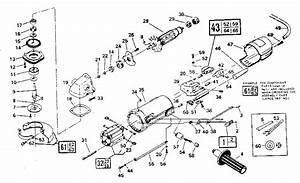Craftsman 135277001 Angle Grinder Parts