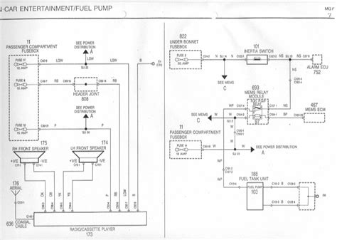 Rover 75 Radio Wiring Diagram by Mgf Mg Tf Owners Forum Door Speaker Wires Help