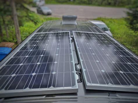 How Install Solar Panels Camper Van Conversion