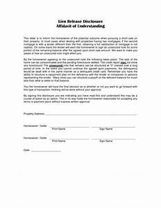lien release letter printables world auto lien release With construction lien letter