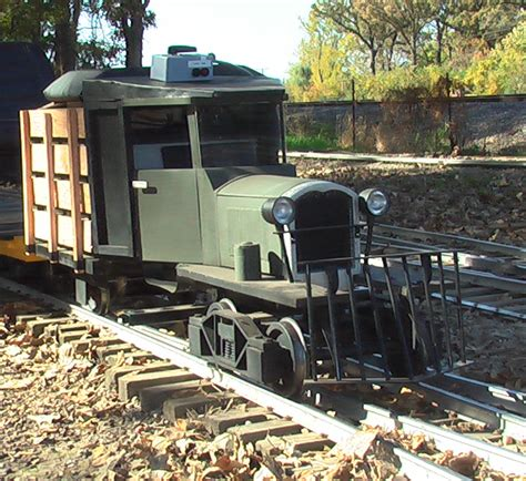 Ride On Backyard Trains by A Hobby Foundry
