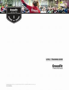 Crossfit Level 1 Certificate Course