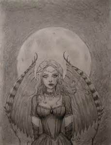 Dark Fairy Drawings