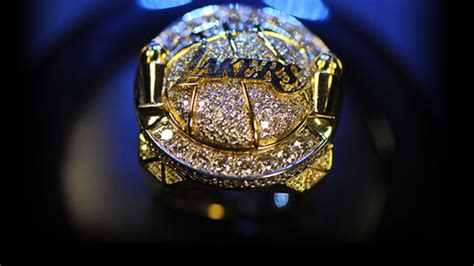 championship ring los angeles lakers