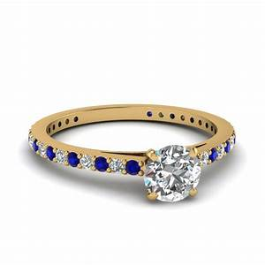 round cut engagement rings fascinating diamonds With wedding rings round
