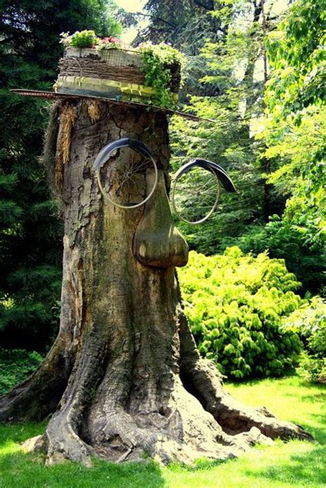 Baumstumpf Kreativ Gestalten by 31 Tree Stumps Ideas For Home Decorating And Backyard