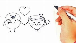 Love Drawings Cartoon How To Draw A In Love Characters ...