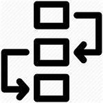 Icon Workflow Diagram Management Project Flowchart Plan