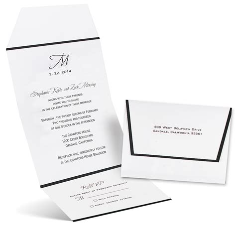 formal affair seal  send invitation anns bridal bargains