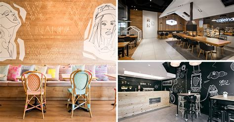 creatively designed european cafes