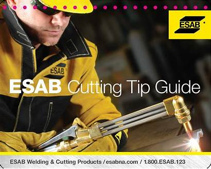Esab Tip Cutting Guide Reference Gas Selection