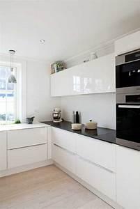 Ikea Cuisine Blanche : 53 variantes pour les cuisines blanches insta cuisine blanc laqu cuisine laqu e et ~ Melissatoandfro.com Idées de Décoration
