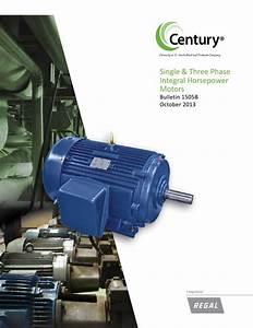 Cat U00e1logo Motores Century Trif U00e1sicos De Potencia Integral By Climasmonterrey Com