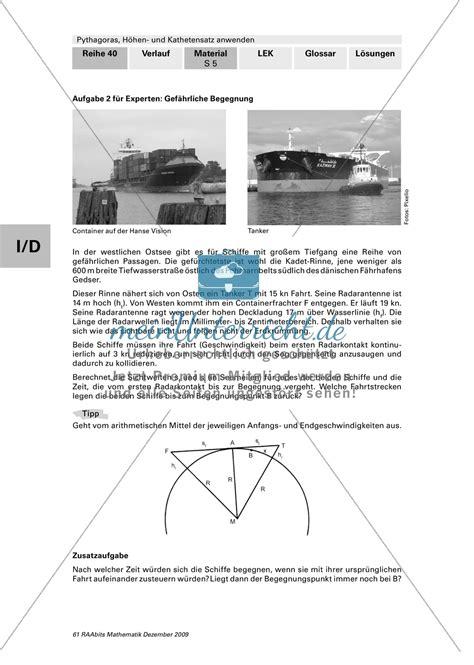 geometrie die grafische herleitung des satz des