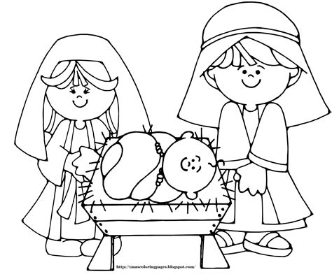 Nativity Scene Coloring Sheet Search Results Calendar 2019