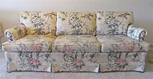 Natural canvas slipcover for ethan allen sofa the for Ethan allen slipcovers for sofas