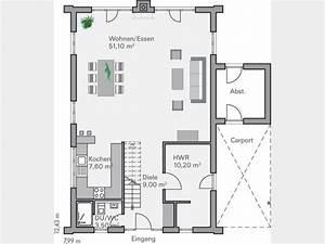 Grundriss 2 Familienhaus : grundriss eg familienhaus becker mit carport gro em ~ A.2002-acura-tl-radio.info Haus und Dekorationen